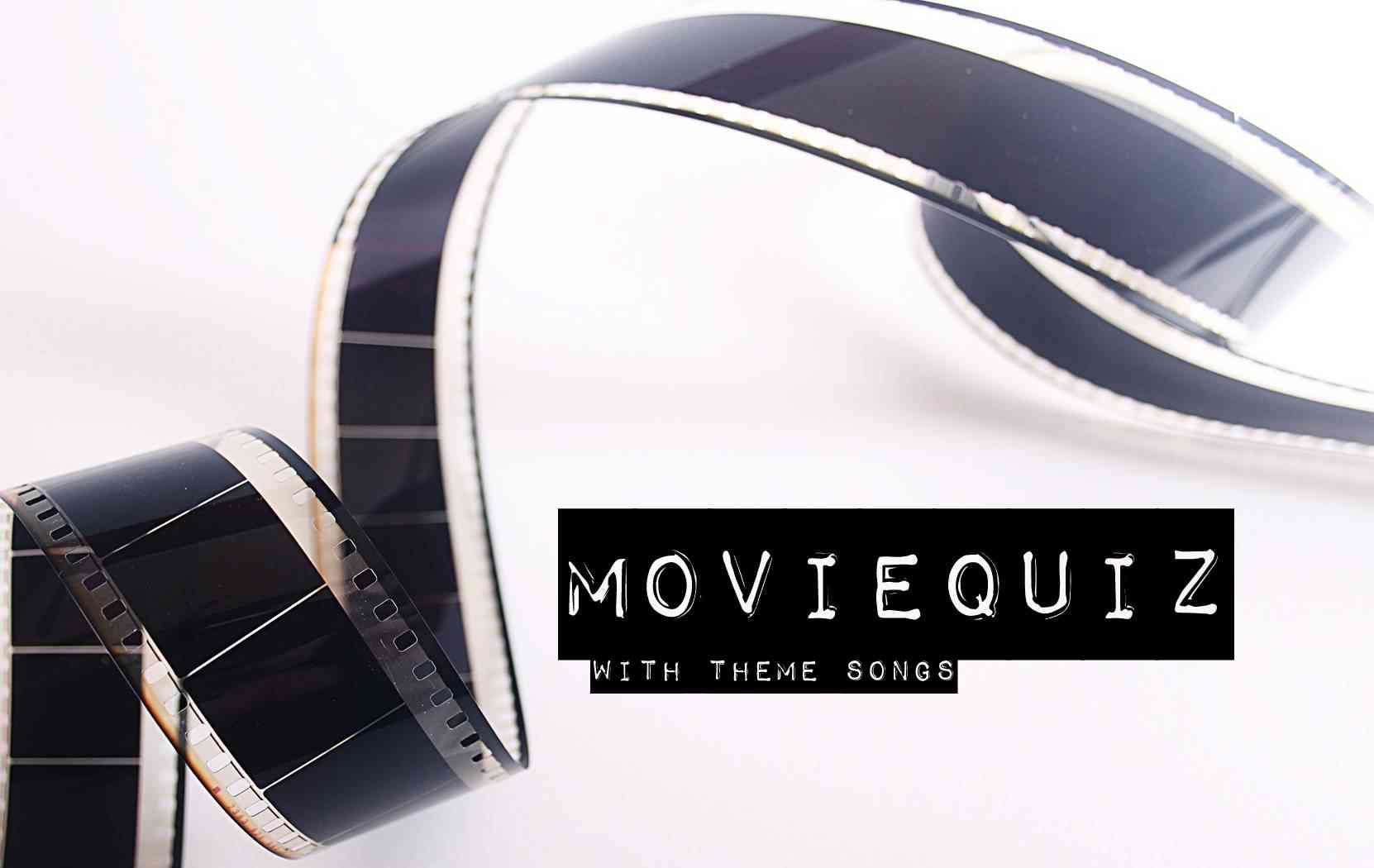 This is a free quiz for all you movie lovers - theme songs and movie quotes.